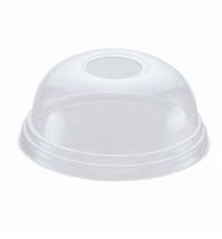 Крышка для одноразовых стаканов Huhtamaki Polarity d 80мм прозрачный, 100шт/уп