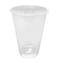 Стакан одноразовый Интеко 330мл пластиковый прозрачный, 50шт/уп