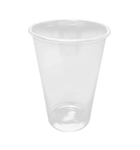 фото: Стакан одноразовый Интеко 330мл пластиковый прозрачный, 50шт/уп