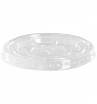 Крышка для одноразовых стаканов Юнипластик Polarity d 95мм 50шт/уп, с крестообразным отверстием