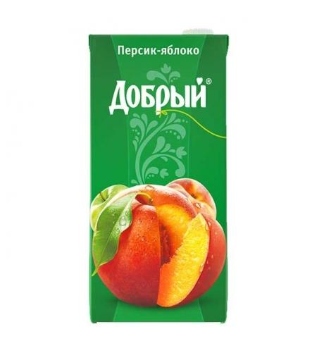 фото: Сок Добрый персик-яблоко 2л