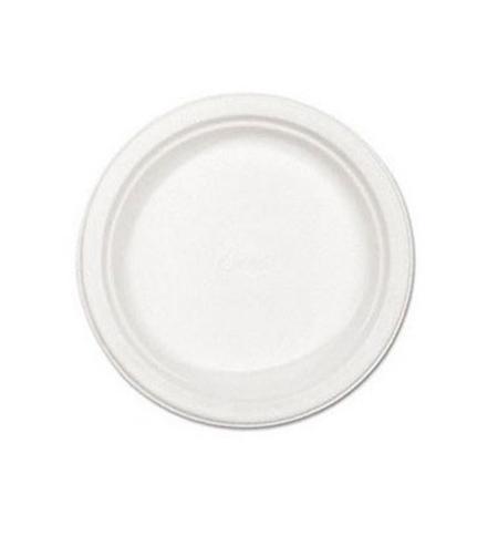 фото: Тарелка одноразовая Мистерия белая d 16.7см, 100шт/уп