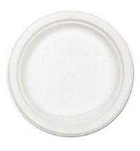 Тарелка одноразовая Huhtamaki белая d 22см, 100шт/уп