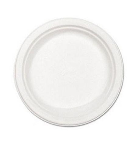 фото: Тарелка одноразовая Huhtamaki белая d 22см, 100шт/уп