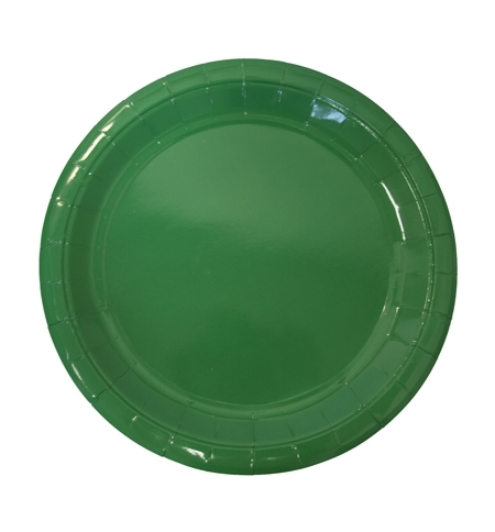фото: Тарелка одноразовая Horeca зеленая d 23см, 50шт/уп