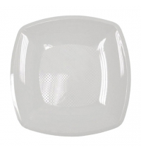 Тарелка одноразовая Horeca белая 23х23см, 6шт/уп