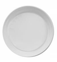 Тарелка одноразовая Артпласт Идеал белая 20.5см, 100шт/уп