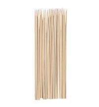 Шампуры 30см 100шт/уп, бамбуковые