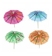Пика для канапе Rioba зонтик 10см, 144шт/уп