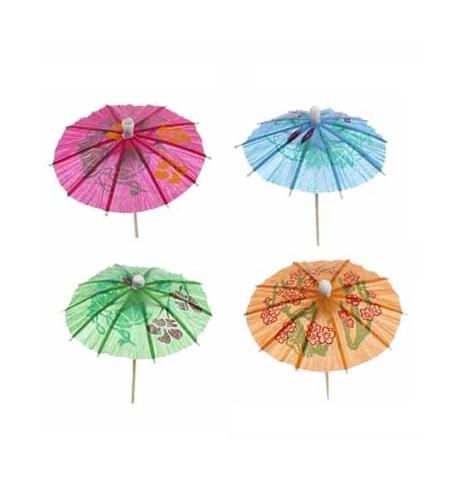 фото: Пика для канапе Rioba зонтик 10см, 144шт/уп