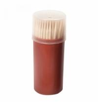 Зубочистки Extra 100шт х 10уп деревянные, пластиковая упаковка