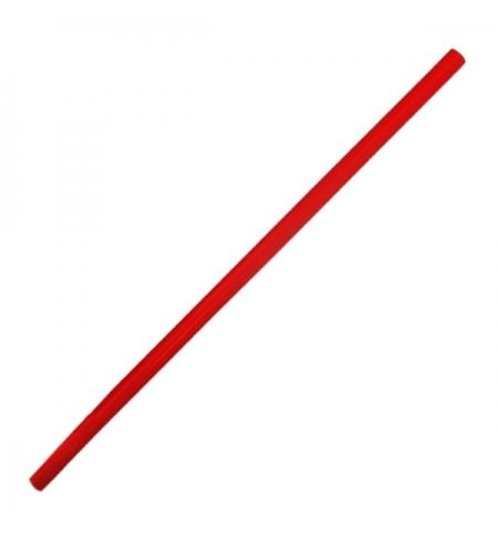 фото: Трубочки для коктейлей Артпласт красная без изгиба, d 0.8мм, 24см, 500шт/уп