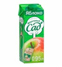 Сок Фруктовый Сад яблоко 950мл