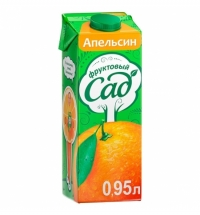Сок Фруктовый Сад апельсин 950мл