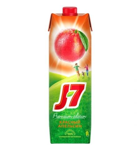 фото: Нектар J7 красный апельсин 970мл