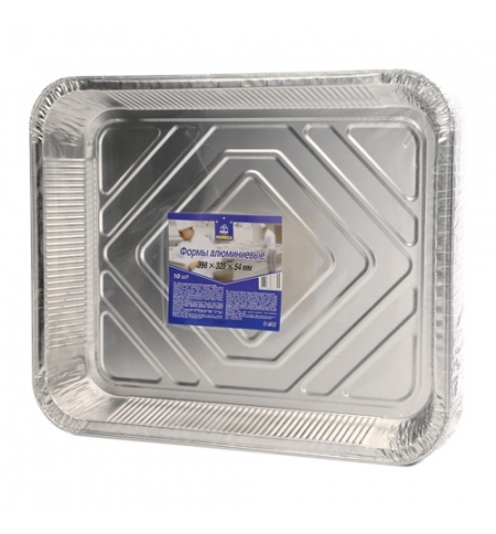 фото: Форма алюминиевая Horeca 398х328х54мм 10шт/уп