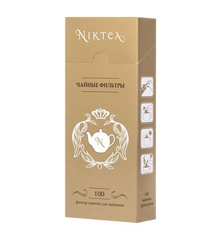 фото: Фильтры для заваривания чая Niktea 100шт/уп