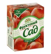 Сок Фруктовый Сад персик и яблоко 200мл х 10шт