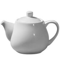 Чайник заварочный Wilmax 1л белый, фарфор, WL-994003