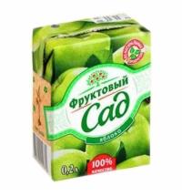 Сок Фруктовый Сад яблоко 200мл х 10шт