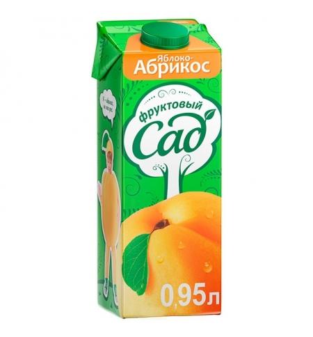 фото: Сок Фруктовый Сад абрикос/яблоко 950мл