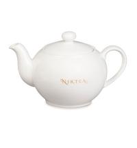 Чайник заварочный Niktea 450мл фарфор, цвет слоновая кость