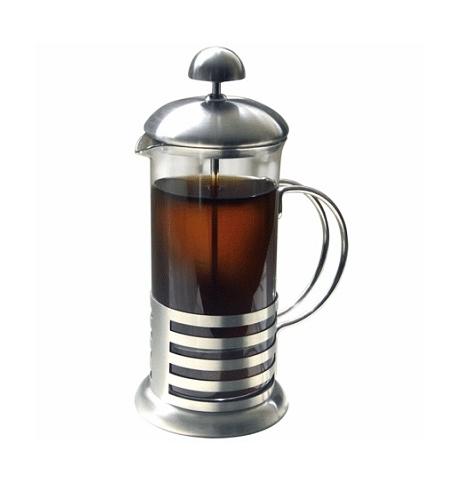 фото: Чайник заварочный френч-пресс Irit 1л стекло/металл, FR-10-011