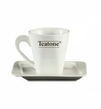 Чайная пара Teatone 220мл 6шт, квадратная