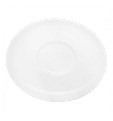 фото: Блюдце белое d 145мм, БЛ 03.145