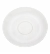 Блюдце Башкирский Фарфор белое d 120мл, ИБЛ 03.120