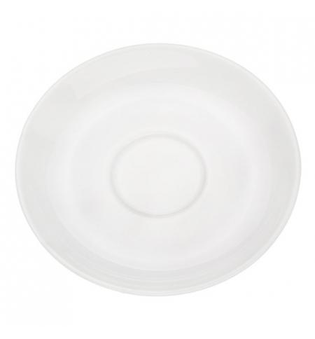 фото: Блюдце Башкирский Фарфор белое d 120мл, ИБЛ 03.120