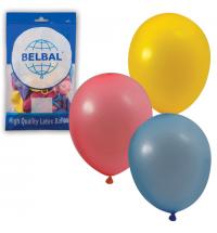 Воздушные шары Веселая Затея 12 пастельных цветов 25см, 50шт, в пакете, 1101-0031