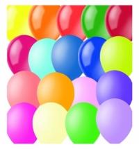 Воздушные шары Поиск ассорти 23см, 100шт