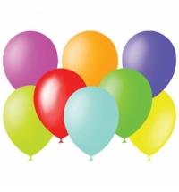 Воздушные шары Поиск ассорти, пастель 23см, 100шт