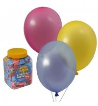 Воздушные шары Веселая Затея 14 цветов 25см, 200шт, в банке, 1110-0003