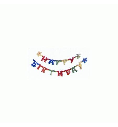 фото: Праздничная гирлянда Herlitz Happy Birthday 1.6м х 11см