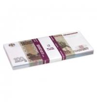 Деньги шуточные Филькина Грамота 100 рублей