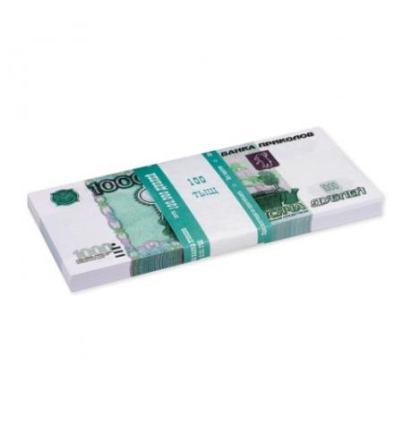 фото: Деньги шуточные Филькина Грамота 1000 рублей