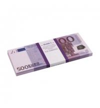 Деньги шуточные Филькина Грамота 500 евро