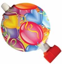 Набор язычков-гудков Поиск праздничное настроние 6шт