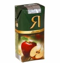 Сок Я яблоко 200мл х 24шт
