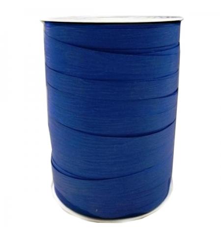 фото: Лента упаковочная Stewo матовая синяя двухсторонняя, 1см, 250м