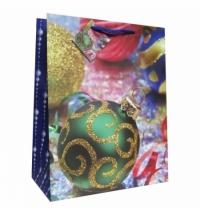 Пакет подарочный Eureka Елочный шар 11x13.5см
