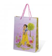 Пакет подарочный Grandgift для девочек 22х31см, ламинированный, 2159