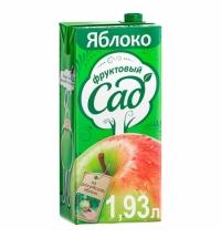 Нектар Фруктовый Сад яблоко 1.93л