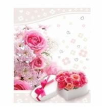 Пакет подарочный Eureka Признание в любви 18х23см