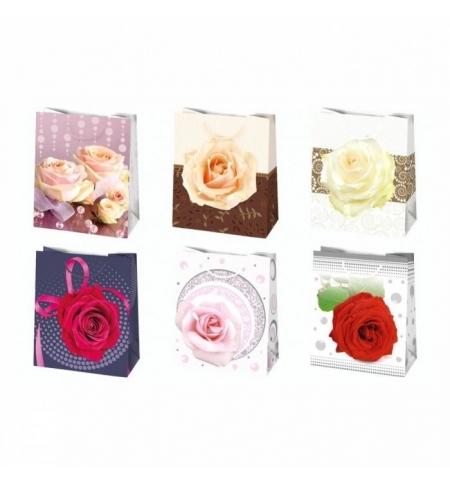 фото: Пакет подарочный Pol-Mak Розовые мечты 19х23см, 6 мотивов ассорти