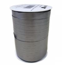 Лента упаковочная Stewo матовая серебро двухсторонняя, 1см, 250м