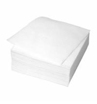Салфетки сервировочные белые 24х24см, 100шт