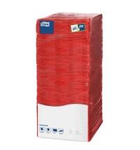 Салфетки сервировочные Tork Universal красные 25х25см, 1 слой, 500шт, 478661